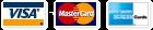 Cartes Bancaires Visa Mastercard AMEX